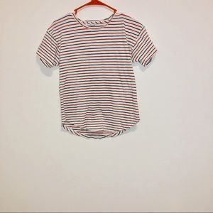 Red white and blue Madewell T